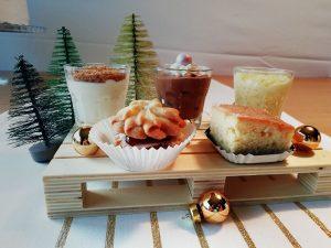 dessertpalet kerst