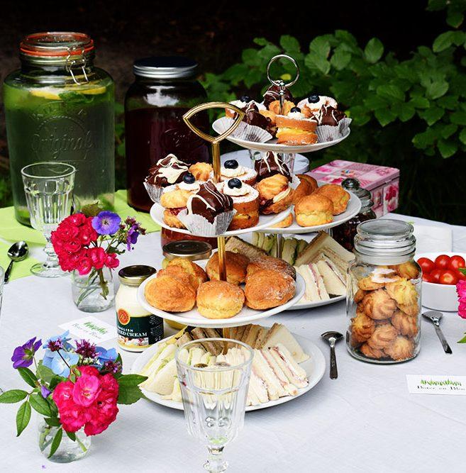 high tea tafel